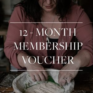 12 month membership gift voucher