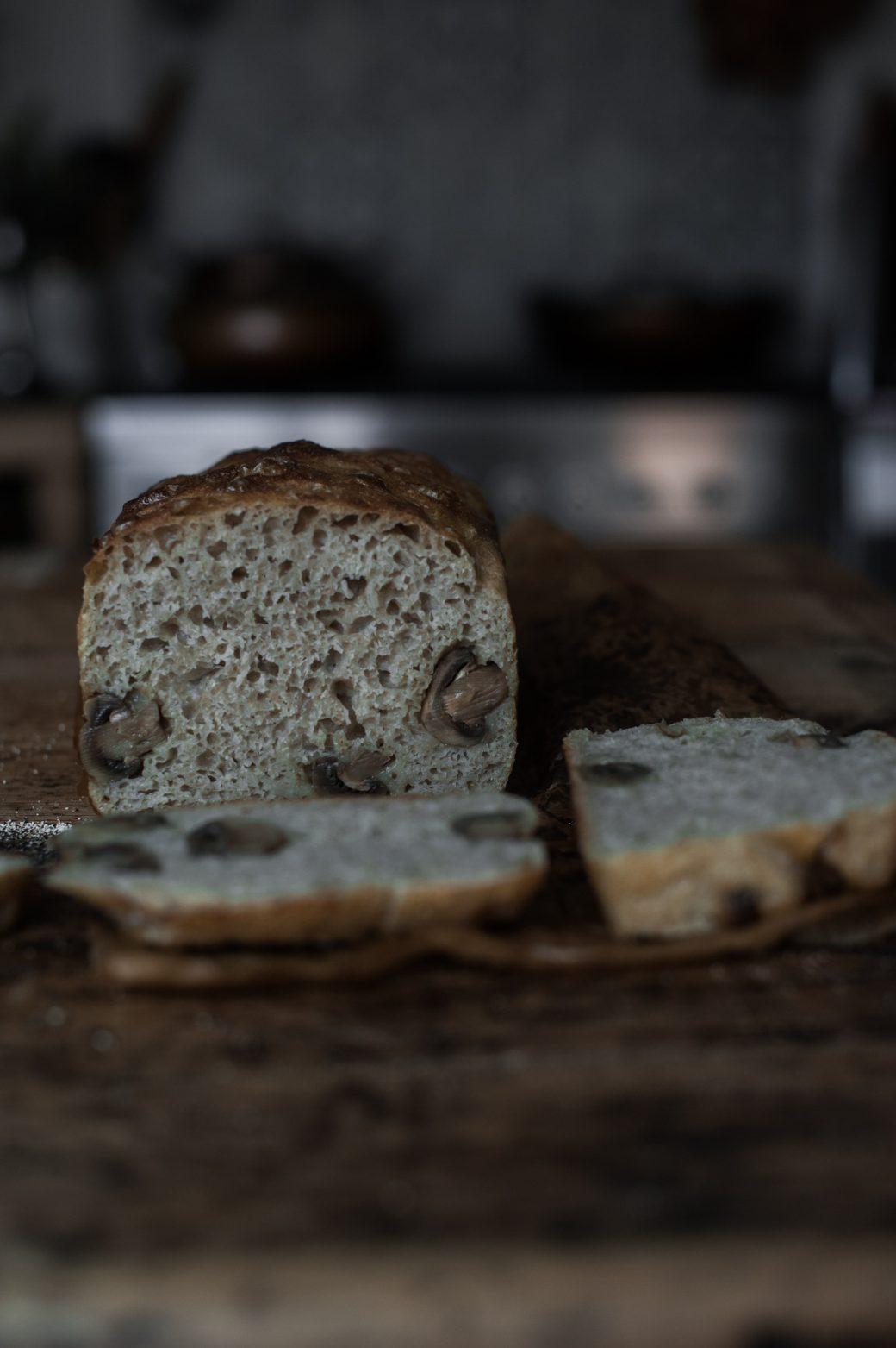 bread and immunity boosting mushrooms
