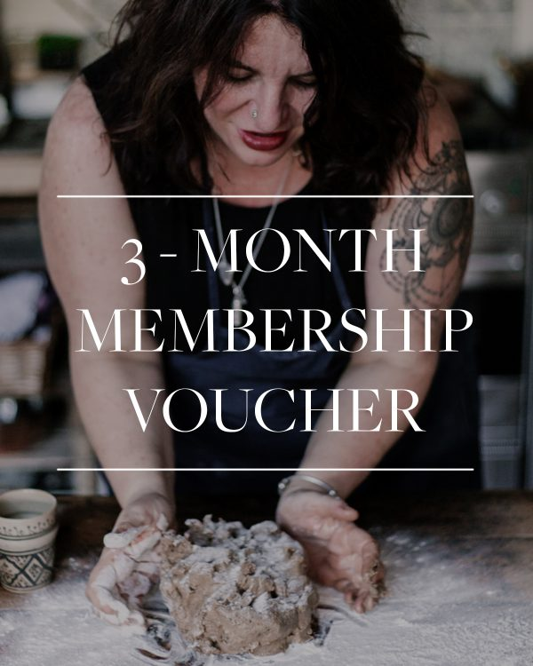 3 month membership gift voucher
