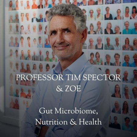 The relationship between the gut microbiome, health and food by Tim Spector & the Zoe team