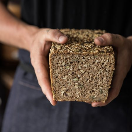 10-Minute Seeded Sourdough Tin Loaf