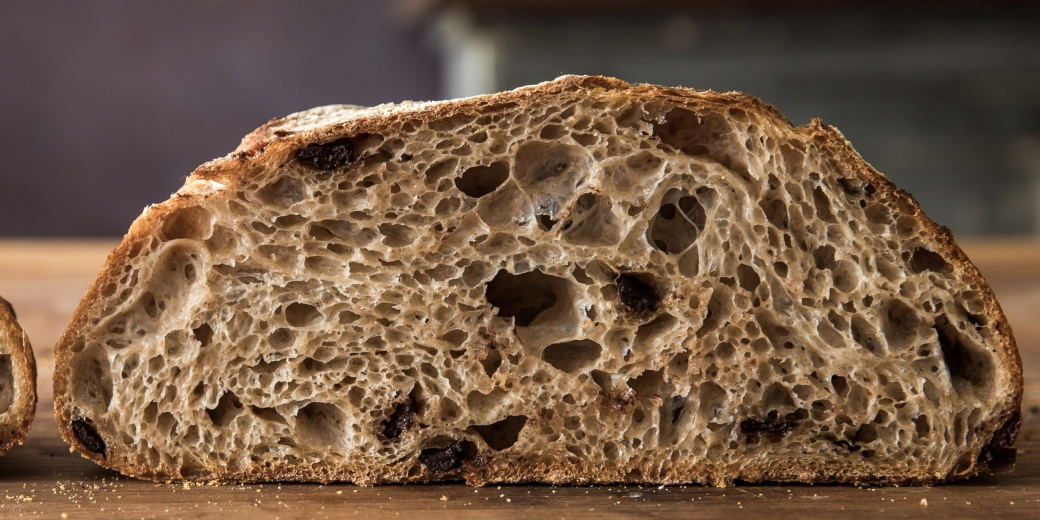 20% Chocolate Chip & Spiced Rye Classic Sourdough Boule - Retarded - Mid Hydration